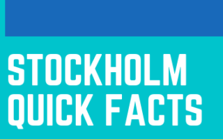 stockholm quick Facts