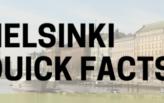 helsinki Quick Facts